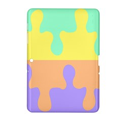 Puzzle Gender Samsung Galaxy Tab 2 (10 1 ) P5100 Hardshell Case  by Mariart