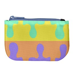 Puzzle Gender Large Coin Purse by Mariart