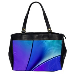 Line Blue Light Space Purple Office Handbags by Mariart