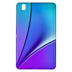Line Blue Light Space Purple Samsung Galaxy Tab Pro 8 4 Hardshell Case by Mariart