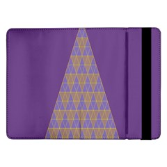 Pyramid Triangle  Purple Samsung Galaxy Tab Pro 12 2  Flip Case by Mariart