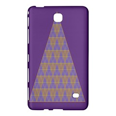 Pyramid Triangle  Purple Samsung Galaxy Tab 4 (7 ) Hardshell Case  by Mariart