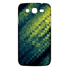 Polygon Dark Triangle Green Blacj Yellow Samsung Galaxy Mega 5 8 I9152 Hardshell Case  by Mariart