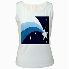 Star Gender Flags Women s White Tank Top by Mariart