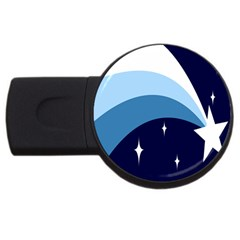 Star Gender Flags Usb Flash Drive Round (2 Gb) by Mariart