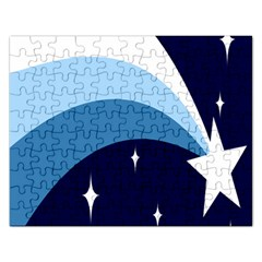 Star Gender Flags Rectangular Jigsaw Puzzl by Mariart