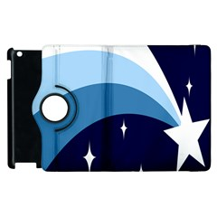 Star Gender Flags Apple Ipad 2 Flip 360 Case by Mariart