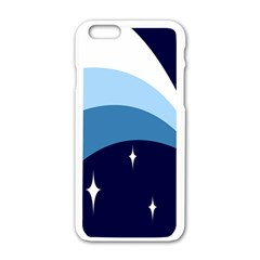 Star Gender Flags Apple Iphone 6/6s White Enamel Case by Mariart