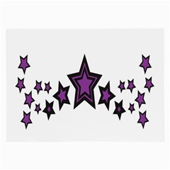 Star Purple Space Large Glasses Cloth