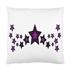 Star Purple Space Standard Cushion Case (two Sides) by Mariart