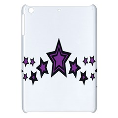 Star Purple Space Apple Ipad Mini Hardshell Case by Mariart