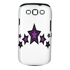 Star Purple Space Samsung Galaxy S Iii Classic Hardshell Case (pc+silicone) by Mariart