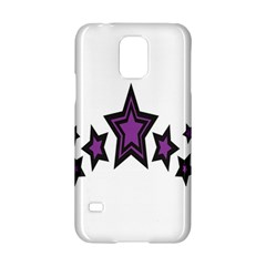 Star Purple Space Samsung Galaxy S5 Hardshell Case  by Mariart