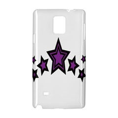 Star Purple Space Samsung Galaxy Note 4 Hardshell Case