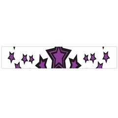 Star Purple Space Flano Scarf (large) by Mariart