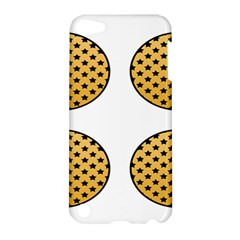 Star Circle Orange Round Polka Apple Ipod Touch 5 Hardshell Case by Mariart