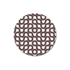 Seamless Geometric Circle Magnet 3  (round) by Mariart
