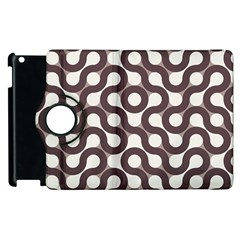 Seamless Geometric Circle Apple Ipad 3/4 Flip 360 Case by Mariart