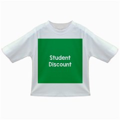 Student Discound Sale Green Infant/toddler T Shirts