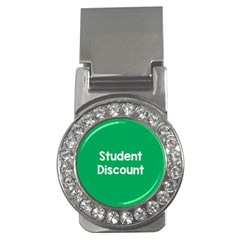 Student Discound Sale Green Money Clips (cz)  by Mariart
