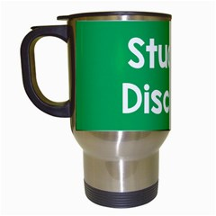 Student Discound Sale Green Travel Mugs (white) by Mariart