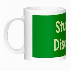 Student Discound Sale Green Night Luminous Mugs by Mariart