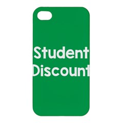 Student Discound Sale Green Apple Iphone 4/4s Hardshell Case by Mariart