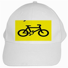 Stay Classy Bike Cyclists Sport White Cap by Mariart