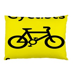 Stay Classy Bike Cyclists Sport Pillow Case by Mariart