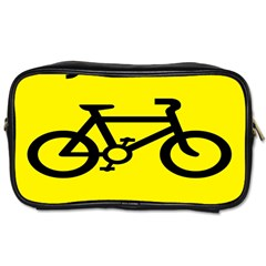 Stay Classy Bike Cyclists Sport Toiletries Bags by Mariart