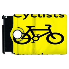 Stay Classy Bike Cyclists Sport Apple Ipad 3/4 Flip 360 Case by Mariart
