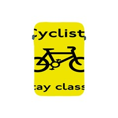 Stay Classy Bike Cyclists Sport Apple Ipad Mini Protective Soft Cases by Mariart