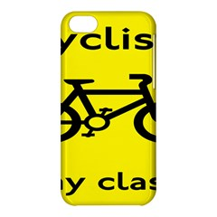 Stay Classy Bike Cyclists Sport Apple Iphone 5c Hardshell Case by Mariart
