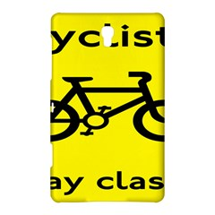 Stay Classy Bike Cyclists Sport Samsung Galaxy Tab S (8 4 ) Hardshell Case  by Mariart