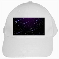 Starry Night Sky Meteor Stock Vectors Clipart Illustrations White Cap by Mariart