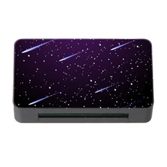 Starry Night Sky Meteor Stock Vectors Clipart Illustrations Memory Card Reader With Cf