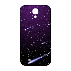 Starry Night Sky Meteor Stock Vectors Clipart Illustrations Samsung Galaxy S4 I9500/i9505  Hardshell Back Case by Mariart