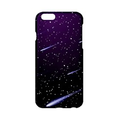 Starry Night Sky Meteor Stock Vectors Clipart Illustrations Apple Iphone 6/6s Hardshell Case by Mariart