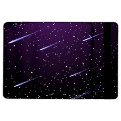 Starry Night Sky Meteor Stock Vectors Clipart Illustrations Ipad Air 2 Flip by Mariart
