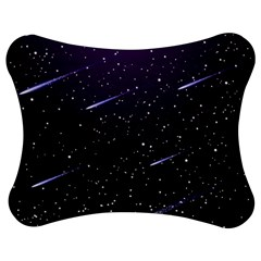 Starry Night Sky Meteor Stock Vectors Clipart Illustrations Jigsaw Puzzle Photo Stand (bow) by Mariart