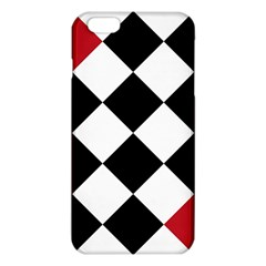 Survace Floor Plaid Bleck Red White Iphone 6 Plus/6s Plus Tpu Case by Mariart
