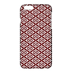 Pattern Kawung Star Line Plaid Flower Floral Red Apple Iphone 6 Plus/6s Plus Hardshell Case by Mariart
