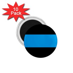 Tomboy Playboy Flag Blue Black Mline 1 75  Magnets (10 Pack)  by Mariart