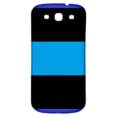 Tomboy Playboy Flag Blue Black Mline Samsung Galaxy S3 S Iii Classic Hardshell Back Case by Mariart