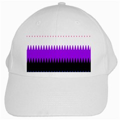 Sychnogender Techno Genderfluid Flags Wave Waves Chevron White Cap by Mariart