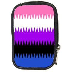 Sychnogender Techno Genderfluid Flags Wave Waves Chevron Compact Camera Cases by Mariart