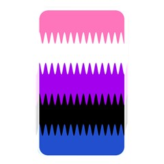 Sychnogender Techno Genderfluid Flags Wave Waves Chevron Memory Card Reader by Mariart