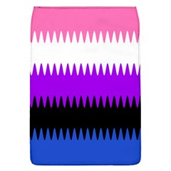 Sychnogender Techno Genderfluid Flags Wave Waves Chevron Flap Covers (l)  by Mariart