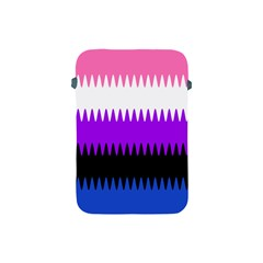 Sychnogender Techno Genderfluid Flags Wave Waves Chevron Apple Ipad Mini Protective Soft Cases by Mariart