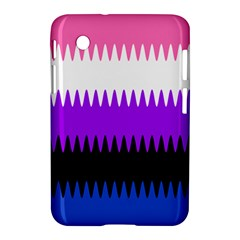 Sychnogender Techno Genderfluid Flags Wave Waves Chevron Samsung Galaxy Tab 2 (7 ) P3100 Hardshell Case  by Mariart